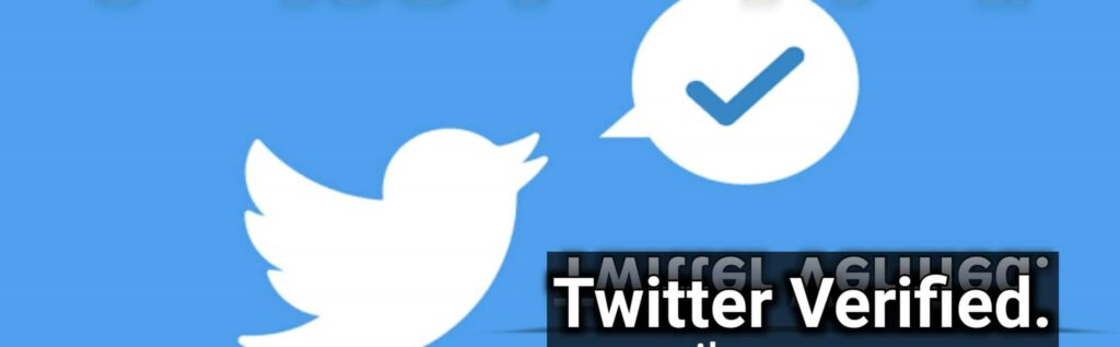 how to get blue tick on twitter